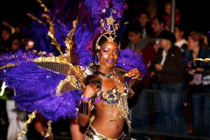 Dancer at Thames Carnival